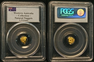 The first PCGS certified nugtgets!
