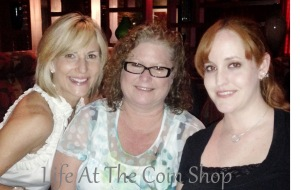 Shelley, Marilyn, and Amanda out for Girl's Night!