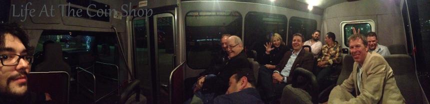 A short bus full of coin nerds!!