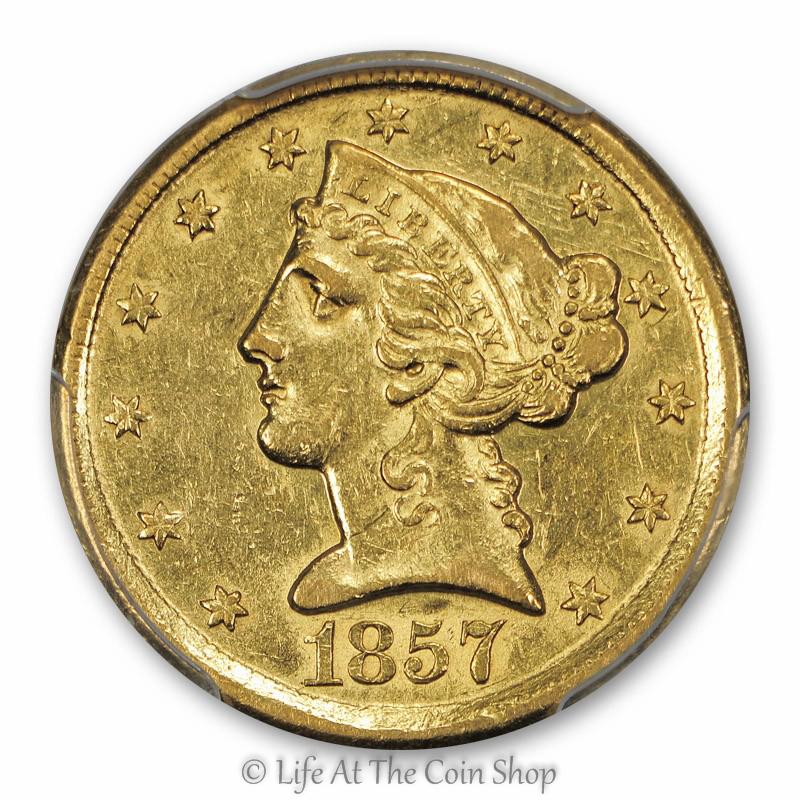 1857-D $5 (1)