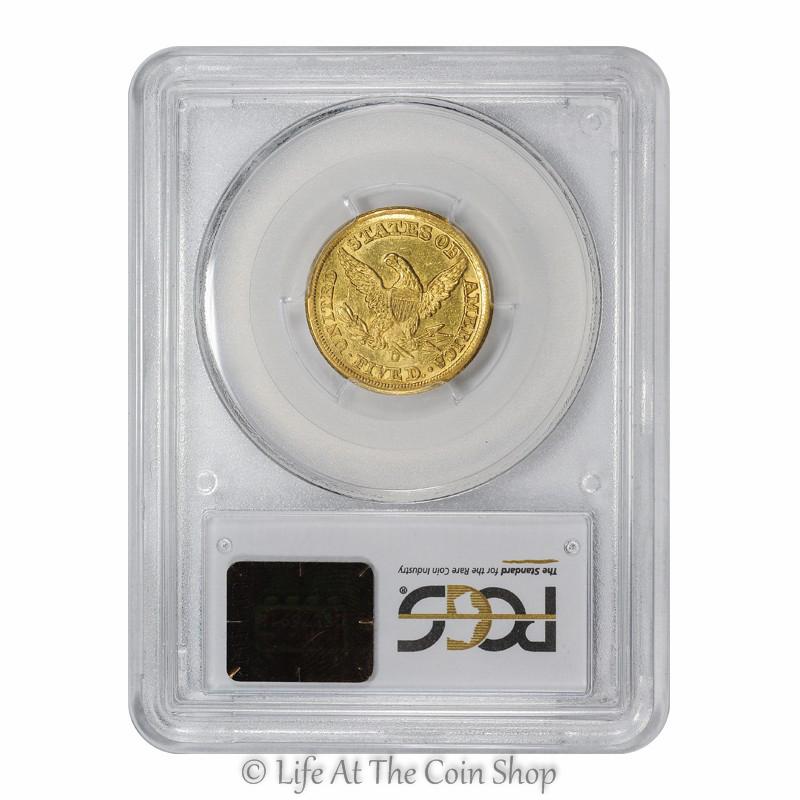 1857-D $5 (4)