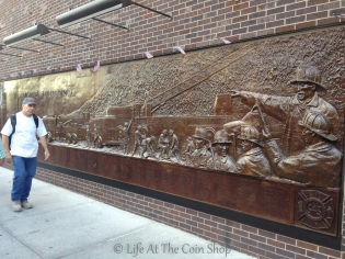 Memorial to the fallen NYC Fire Fighters.