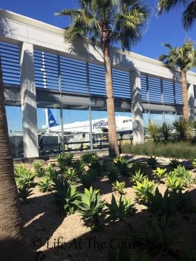 """""""Open Air"""" terminal at the Long Beach airport."""