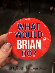 Brian Hendleson's ANA campaign badge ...