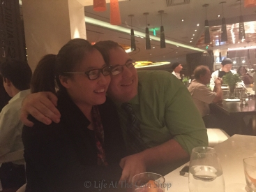 Lovebirds Tyler & Rita.