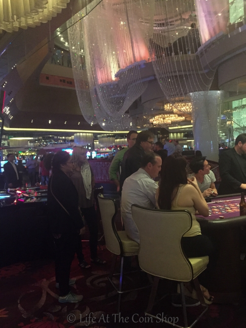 A bit of gambling.