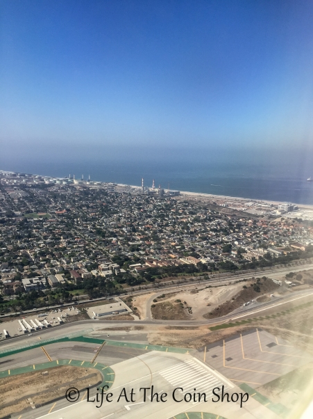 Leaving LA...